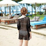 White Mesh Loose Beach Nitted Fabric Cover Jacket