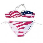 Women's Bikini America Flag Sexy Swimsuit Nz