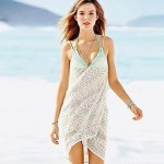 Women's Sexy Deep V Strap Knitting Cover-ups