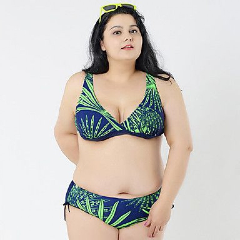9e9b29a5fb8 2017 Big Bikini For Fat Women Plus Size Sexy Bikini Brazilian Biquini  Swimsuit Nz Triangl Swimwear