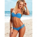 2017 Fashion Sexy Push Up With Chest Pad And Shoulder Strap Swimsuit Nz Two-Piece Bikini Swimwear Nz For Women