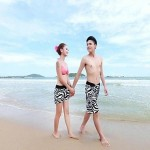 Women's Zebra Pants Beach Lovers
