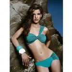 Sexy One Shoulder Swimwear Nz Green Vintage Bathing Suit Push Up Swimsuit Nz Two Pieces Bikini Sets For Women