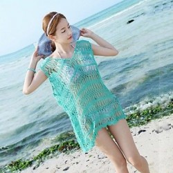 Women's Sexy Cut Out Knitting Cover-ups
