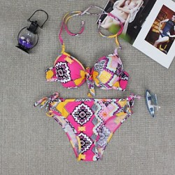New Floral Print Hot Sale Triangle Swimsuit Nz