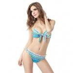 European And American Young Beautiful Colors Split Bikini