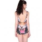 Women's Tiger Elastic Triangle Swimsuit Nz One-pieces Swimwear Nz