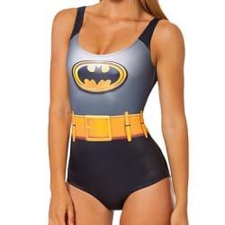 Women's Fashion Cartoon Batman Elastic Sexy Triangle Swimsuit Nz One-pieces Swimwear Nz