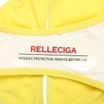 RELLECIGA 2014 Latest Bandeau Top Bikini with Colorful Strips at center Front and Low Waist Bottom Swimwear Nz