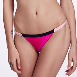 Nzswimwear Women's Mosaic Multi-color /Low Rise/Pink/Black/Rose Red Bikini Triangle Panties