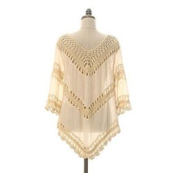 Women's Korean Style Hollow-out Crochet Beachwear