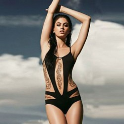 Women's Sexy Cut out One-piece Swimwear Nz