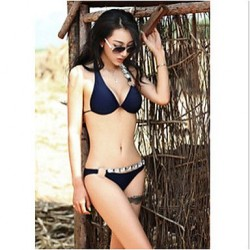 2019 Fashion Sexy Push Up Rhinestone Embellished With Chest Pad Swimsuit Nz Two-Piece Bikini Swimwear Nz For Women