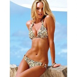Ultra-Soft Bikini Sets 2017 New Swimsuit Nz Leopard Two-Pieces Swinwear For Womens