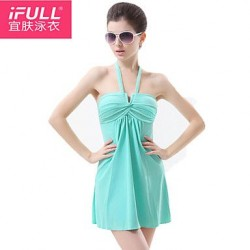 Fashion sexy slim woman bathing suit