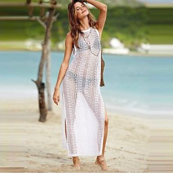 Women's Lace/Polyester Sexy Translucent Thin Cover-Ups