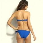 Women's Wireless Solid/Bandage/Geometric Bandeau Bikinis High Quality Strapless Swimwear Nz (Polyester/Spandex)