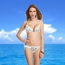 VBM Brand Women's New Arrival Circle Push-up Underwire New Arrival Swimwear Nz Swimming Suit Bikini