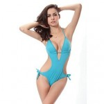 Nzswimwear Hot Wholesale Vintage 2019 Push Up Padding Swimsuit Nz Strappy Sexy Monokini 8 Solid Colors