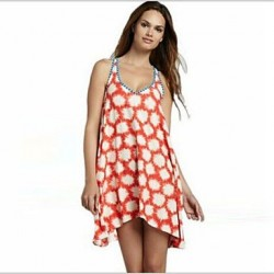 Women's Polyester Fashion Sexy Sleeveless Cover-Ups