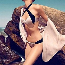 Women's Fashion Sexy Split Push Up Beach Bikini Set Swimwear Nz Swimsuit Nz