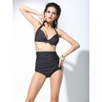 Women Padded Bras Halter High Waist Bikinis Swimwear Nz Swimsuit Nz Bathing Suit