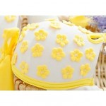 Women's Fashion Sexy Yellow Flower Split Push Up Bikini Set Swimwear Nz Swimsuit Nz Beachwear