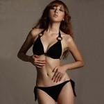 Women Cotton Blends Padless Bra Bikinis