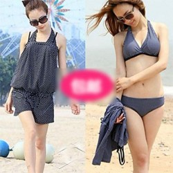 Straight Angle Bikini Three Piece Female Swimsuit Nz