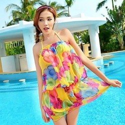 Women Push Up Bikini Set Sarong Cover Up Swimsuit Nz Bathing Suit