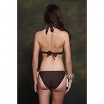 Nzswimwear 2019 New Arrival Women's Sexy Bikini Push Up Plus Size Swimwear Nz With Halter Top Contrast Color Design