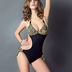 Women's Sexy Printed One-Piece Swimwear Nz