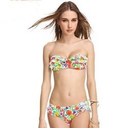 VBM Brand Women's Print Bikinis Push-up Underwire Swimwear Nz Sexiest Swimming Suit Beachwear