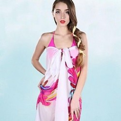 Women's Fashion Throb Microfiber Chiffon Beach Scarf
