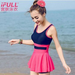 Woman fashion sexy one-piece bathing suit