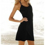 Women Ice Silk Bandeau Cover-Ups(more color)