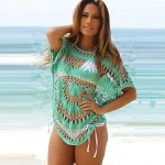 Women's Lace/Polyester Fashion Sexy Hollow Out Cover-Ups