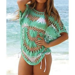 Women's Crochet Women Cover-up Beachwear