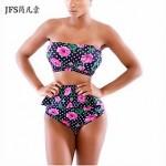 Women's Neoprene Bikinis Swimsuit Nz Set Push Up Bikini Set printing