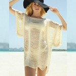 Big discount on sale solid beach swimsuits new style high quality sexy summer dress 2017 good cover up beach wear