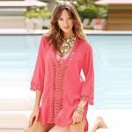 New 2019 fashion solid dress swimsuit hot sale big discount mini ladies swim dress high quality on sale beach coverup