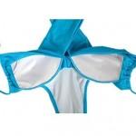 Women's Sexy Fashion Candy Colors Cross Bandage One Piece Swimsuit Nz Beachwear