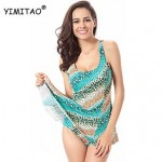 Women's Padded Bras Floral/Dot Halter One-pieces (Polyester)