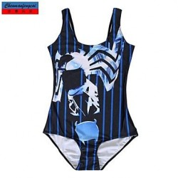 Nzswimwear®Women's Swimwear Nz Fashion Print Sexy Bodycon One-piece Swimsuit Nz Casual Siamesed Underwear
