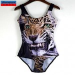 Nzswimwear®Women's Swimwear Nz Fashion 3D Tiger Print Sexy Bodycon One-piece Swimsuit Nz Casual Siamesed Underwear