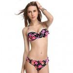 VBM Brand Women Print Bikinis Swimwear Nz Hot Push-up Underwire Swimming Suit Bikini