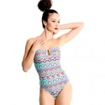 Valtos Women's Peacock One Piece Swimsuit Nz