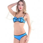 2019 Lady Summer Style Fashion 2pcs Sexy Bikini Triangl Biquini Swimsuit Nz Beachwear Bikini Triangl Neoprene Bikini