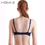 HSIA Women's Push-up/Padded Bras/Underwire Bra Solid/Bandage Straped Bikinis (Polyester)