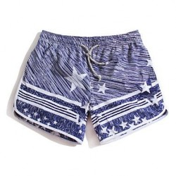 Women's Star Surf Board Shorts Quick Dry Beach Swimwear Nz Pants(Polyester)